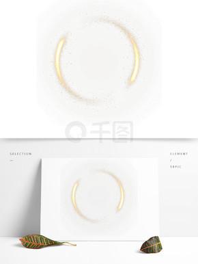 金色圆形光环素材