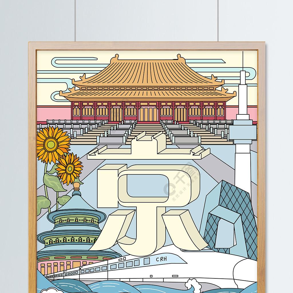 北京城市说特色地标建筑