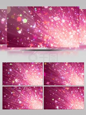 红紫浪漫唯美粒子光斑婚庆婚礼爱情背景