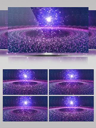 4K银河星系宇宙梦幻led特效背景