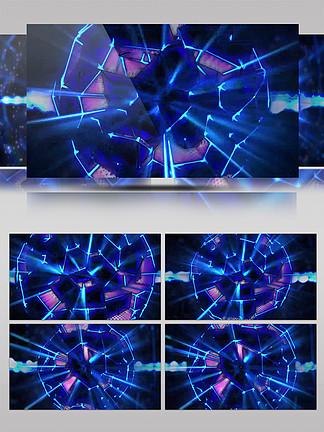 4K蜂窝球体质感动感球体扫光led舞台
