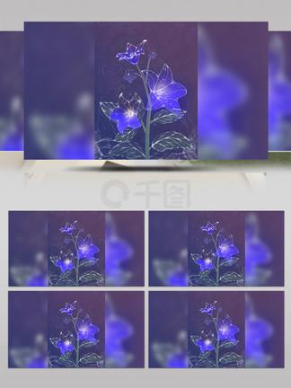 花草透明的flash素材