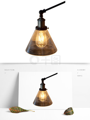 创意的台灯装饰素材