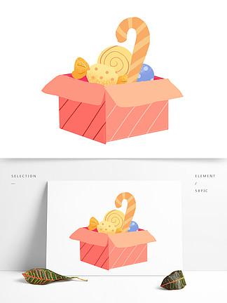 礼物礼盒装饰图案