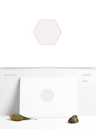 手绘卡通边框元素淡粉色