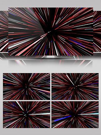 4K光线穿梭粒子隧道特效背景