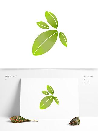 手绘树叶装饰图案