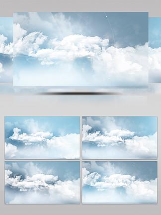 蓝天?#33258;?#20113;层穿梭特效背景视频