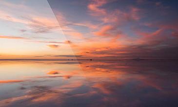 震撼唯美延时拍摄海天相接沙漠天际视频素材