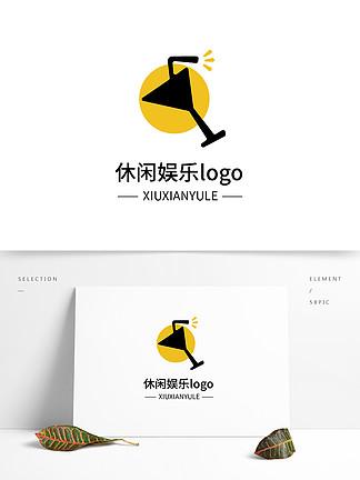 休闲娱乐logo设计