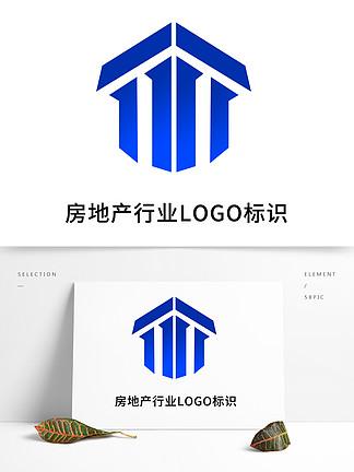 简约建筑行业LOGO标识