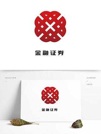金融理财保险证券投资logo大众通用lo