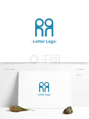R字母LOGO设计