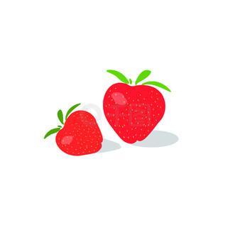 矢量草莓水果设计素材