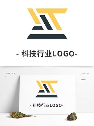简约科技行业LOGO标识