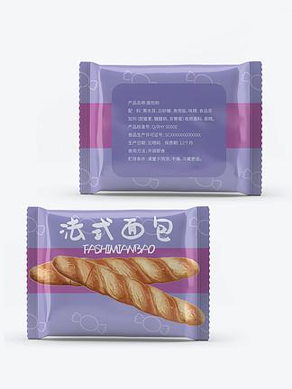 休闲零食法式面包食品包装