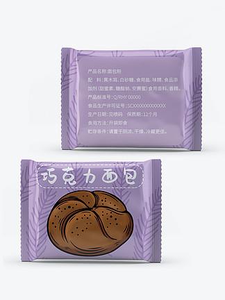 休闲零食巧克力面包食品包装