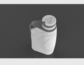 创意水瓶瓶子3D模型stp格式
