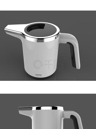 原创烧水壶外观设计3D模型stp格式