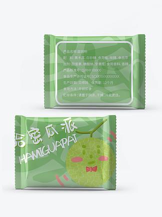 休闲零食小面包哈密瓜派食品包装