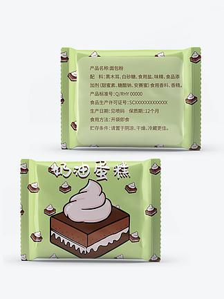 休闲零食奶油蛋糕面包食品包装