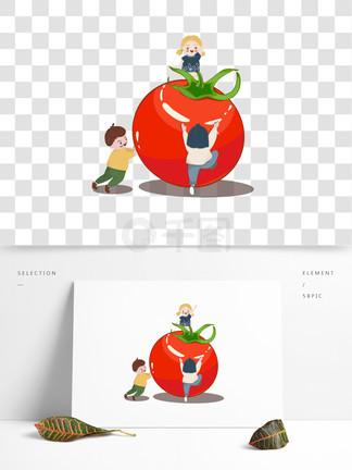 西红柿节和快乐儿童