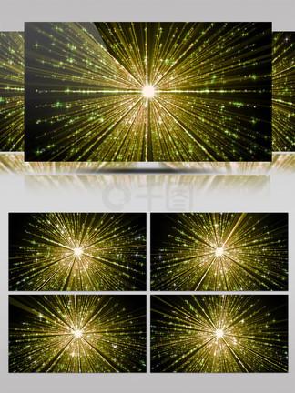 4k十字闪光粒子光线佛光万丈
