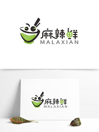 原创美食麻辣鲜标志