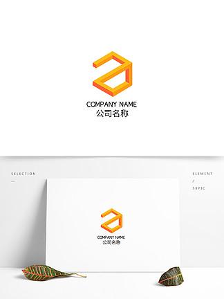 创意立体矩形时尚科技互联网品牌logo