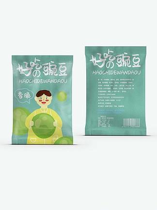 休闲零食香脆豌豆食品包装