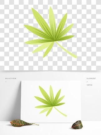绿色的叶子装饰素材