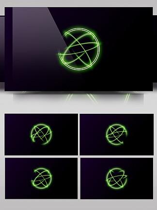 通用粒子背景旋转的光环