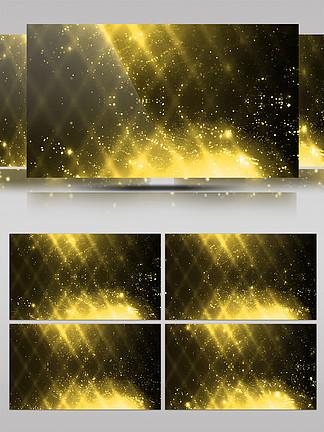 金色粒子特效背景视频