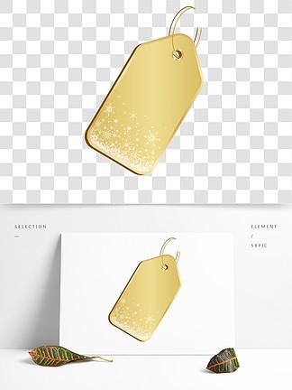 金色标签设计素材