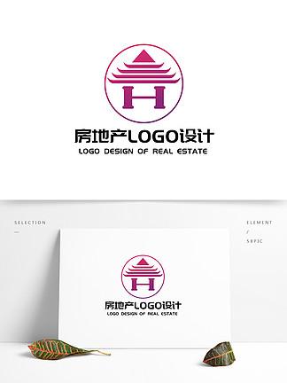 原创简约大气房地产LOGO设计
