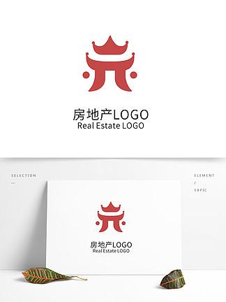 简约大气创意房地产logo标志设计