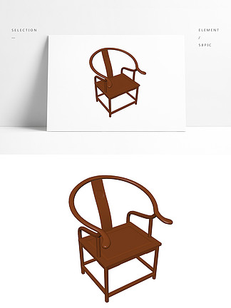 3d中式家具模型明清桌子椅子模型