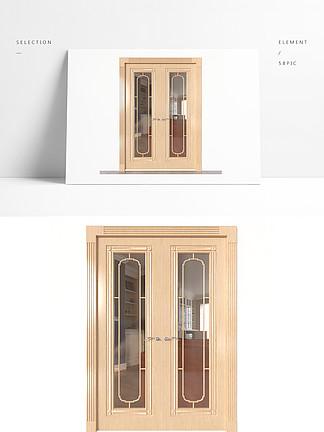?#30340;?#21452;玻璃门3D模型