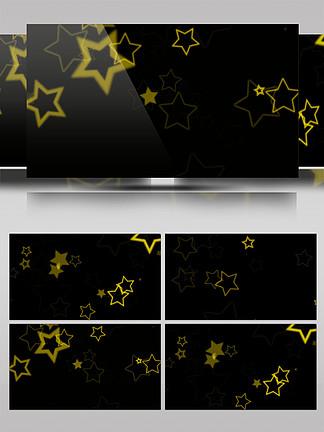 原创星星闪烁带通道动态视频