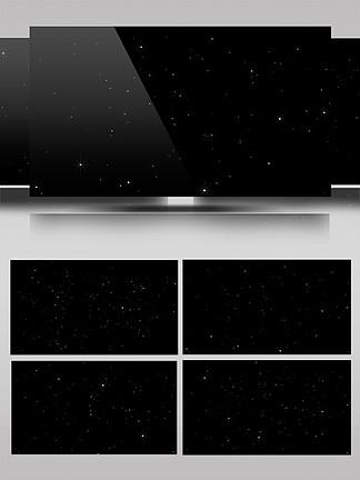 亮晶晶闪烁的小星AE模板