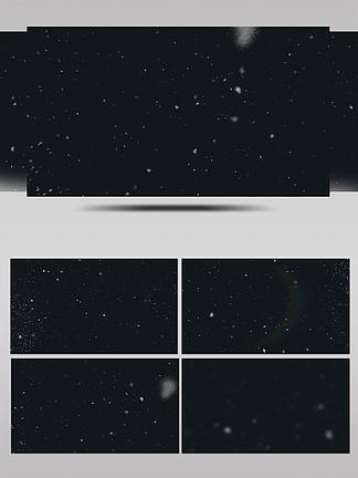 雪花动画AE模板