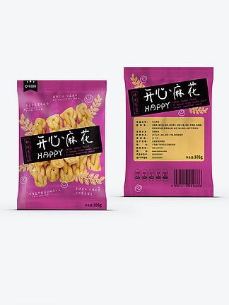 开心麻花休闲零食包装