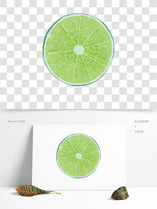 绿色橙子水果?#35813;鱌NG免扣素材