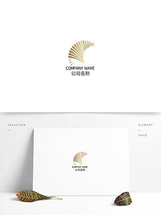 線條飄逸靈動時尚科技互聯網品牌logo
