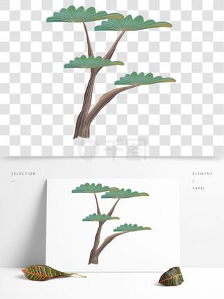 简约松<i>树</i>装饰图案