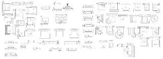床平立面图块CAD