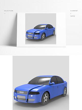 家用轿车数字模型