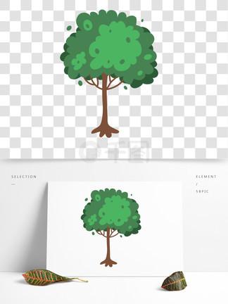绿色小清新植物<i>树</i><i>木</i>