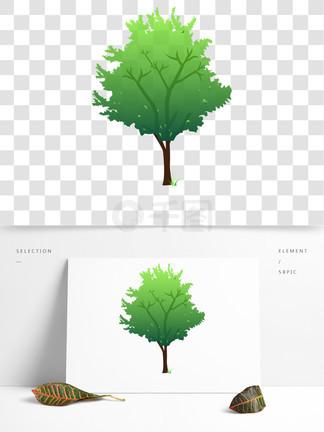 绿色淡色植物<i>树</i><i>木</i>
