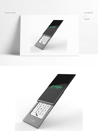 滑盖智能手机外观设计3D模型